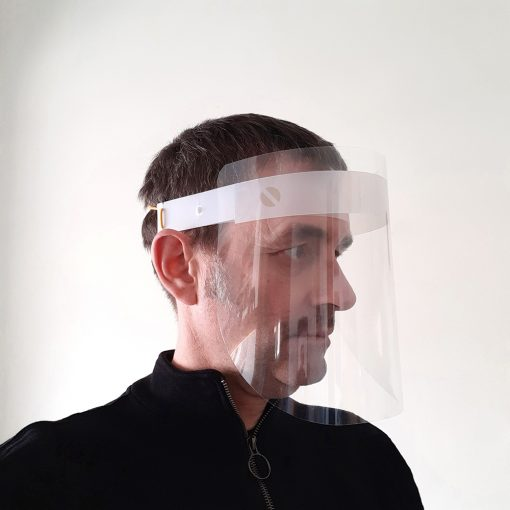 Pantalla de protección facial - Muy cómoda