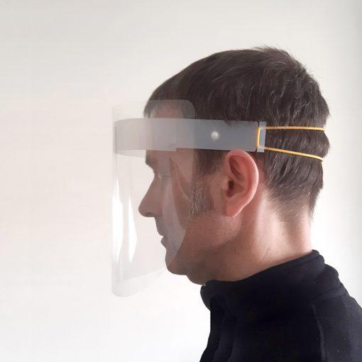 Pantalla de protección facial - Se ajusta muy facilmente